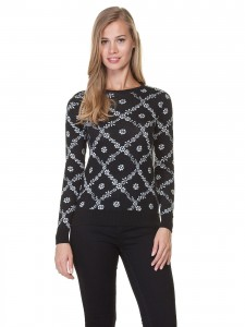 Bu hoş kazağımızda lcw markalı altına giyeceğiniz yüksek bel siyah bir jean çok güzel olacaktır fiyatı 29.90 TL.