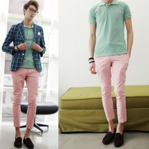 Male-trousers-fashion-slim-9-font-b-pants-b-font-male-casual-font-b-pink-b