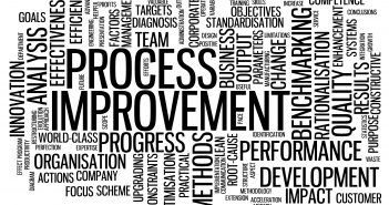 """PROCESS IMPROVEMENT"" Tag Cloud (business intelligence strategy)"